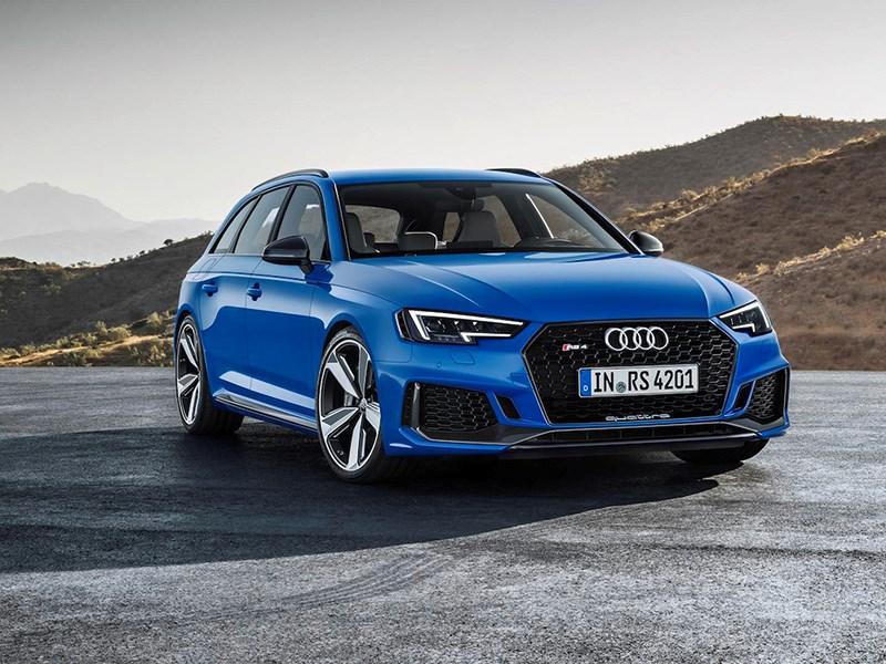Audi представила самый мощный RS4 Avant в истории