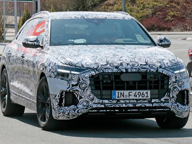 Audi начала тесты RS Q8