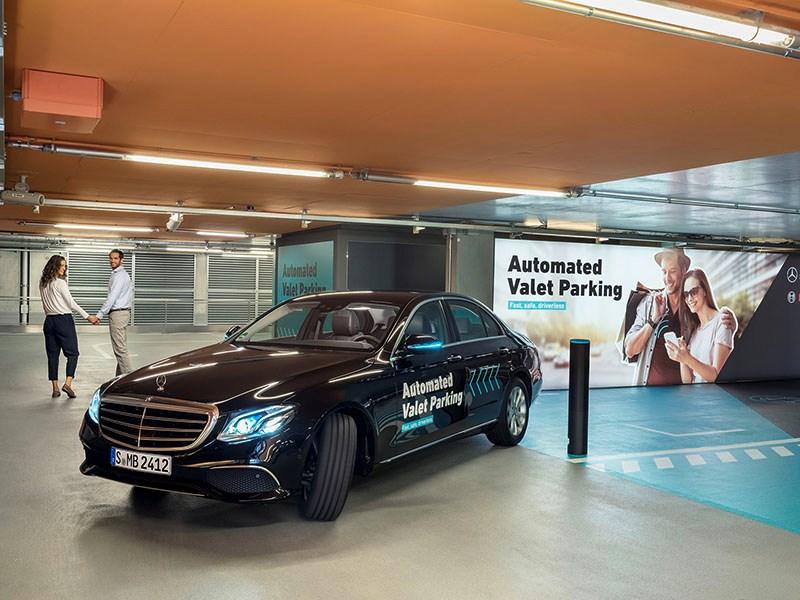 Bosch и Daimler представили парковку будущего - автоновости