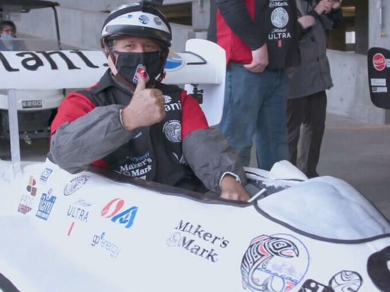 Съедобный автомобиль установил рекорд скорости