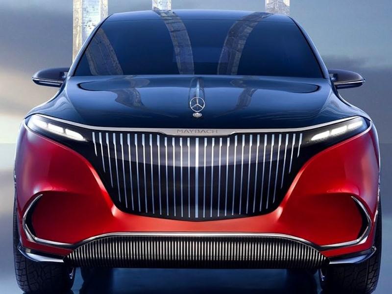 Представлен электрический Mercedes-Maybach