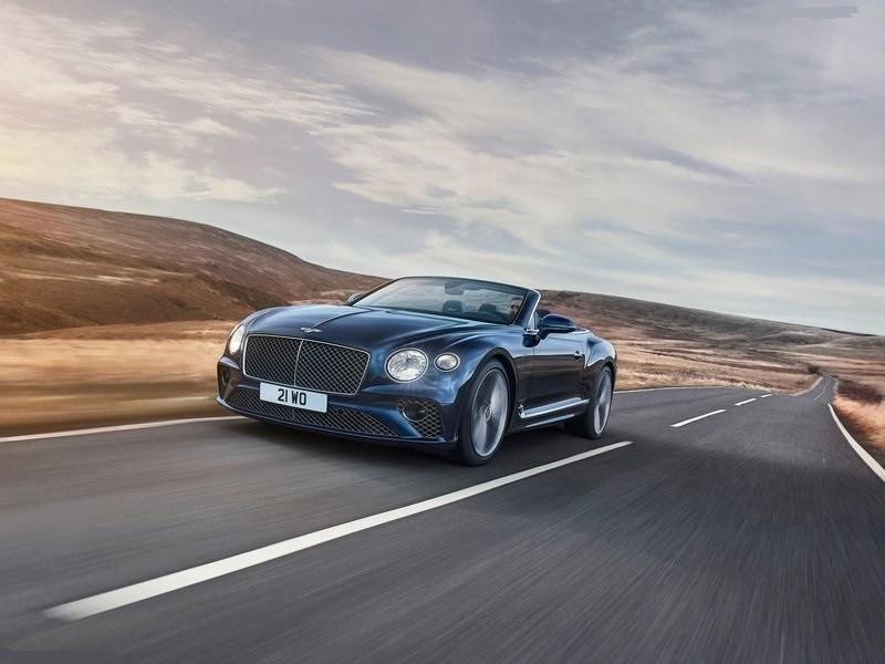 Представлен самый мощный Bentley-кабриолет