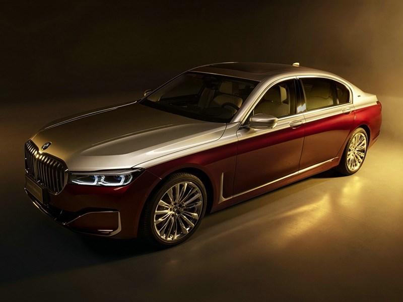 В BMW представили роскошную «Семерку»