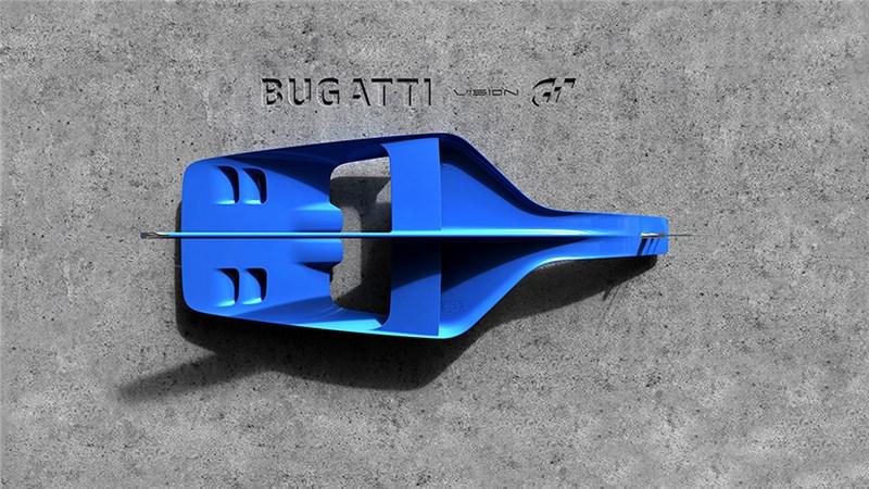Bugatti представила изображение фрагмента супер-кара для Gran Turismo 6