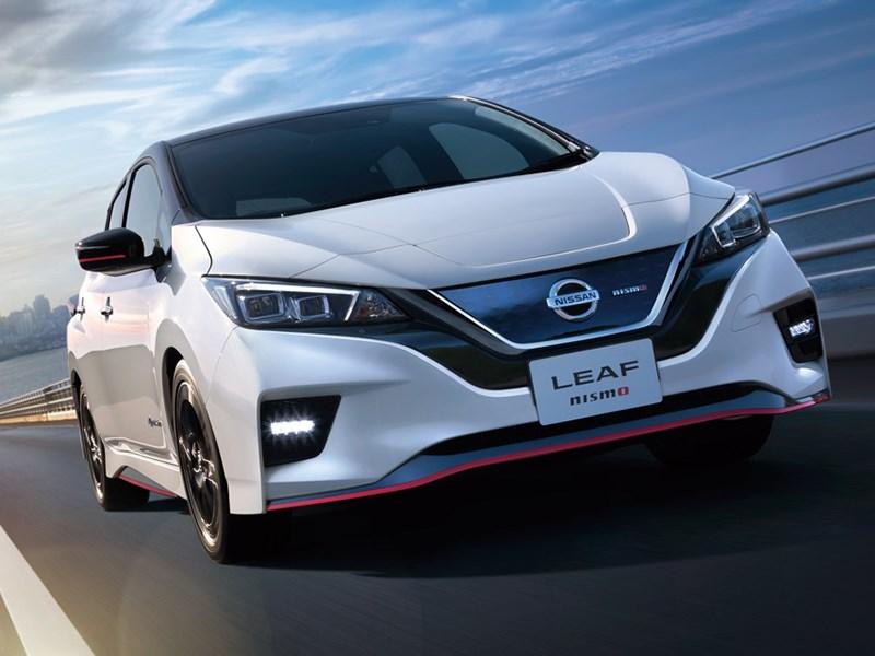 В Nismo доработали электрический Nissan Leaf