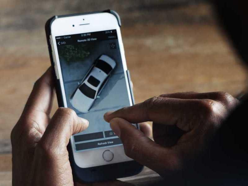 BMW добавит функцию слежения в новый 5-Series