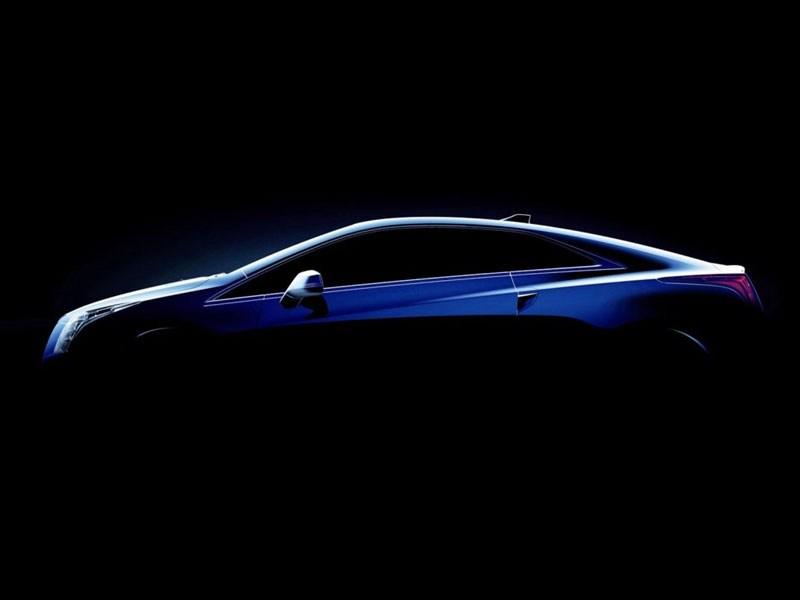 Cadillac показал первый тизер новой модели ELR
