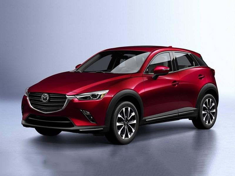 Mazda представила обновленный кроссовер CX-3