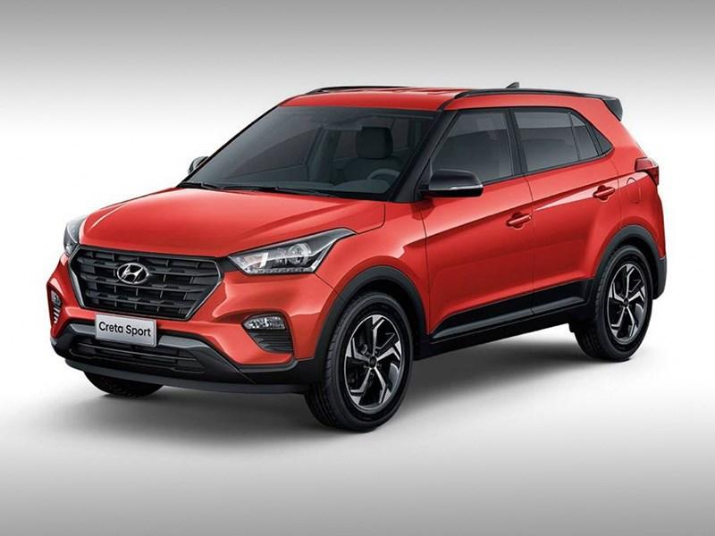 В Бразилии представили обновленную Hyundai Creta Sport Фото Авто Коломна