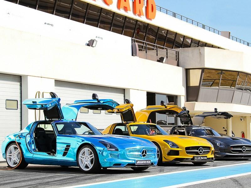 Новая линейка электрокаров Mercedes-Benz получила название