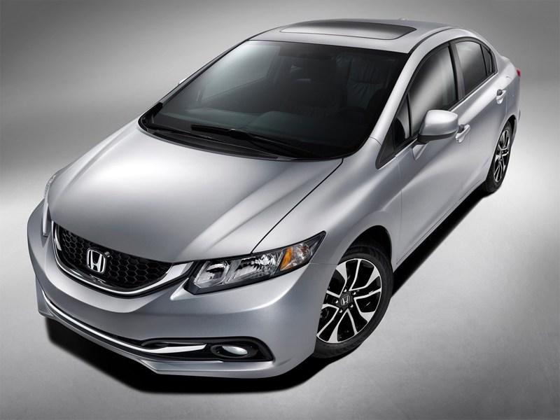 Обновленная Honda Civic дебютирует в Лос-Анджелесе