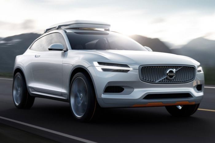 Volvo готовится представить в Детройте концепт кроссовера XC Coupe