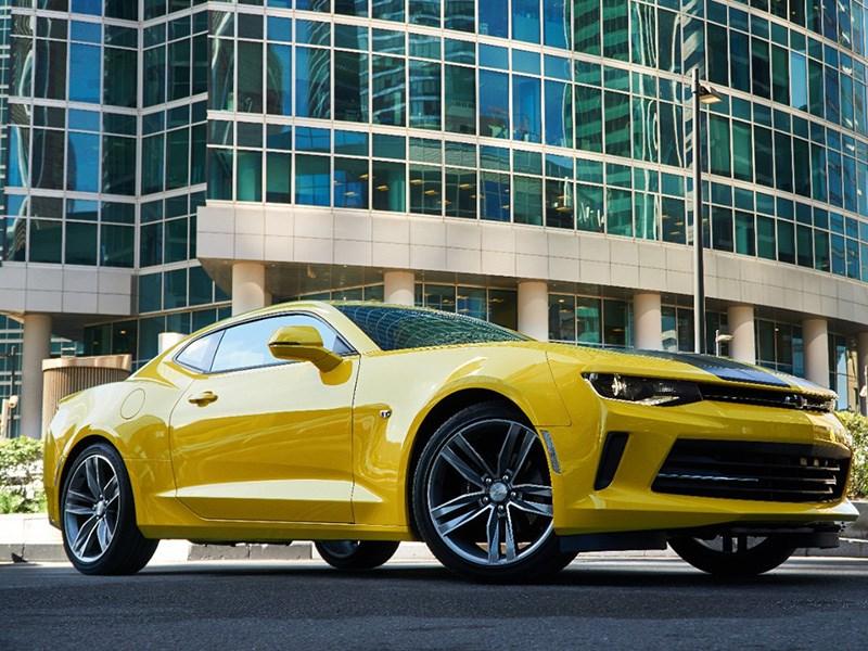 Chevrolet привезет в Россию спецверсию Camaro