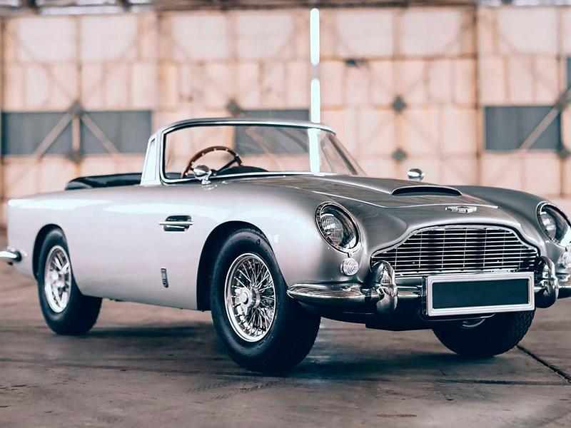 В Aston Martin создали специальный спорткар для ребенка Джеймса Бонда
