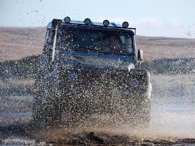 В Jaguar Land Rover официально подтвердили разработку нового Defender