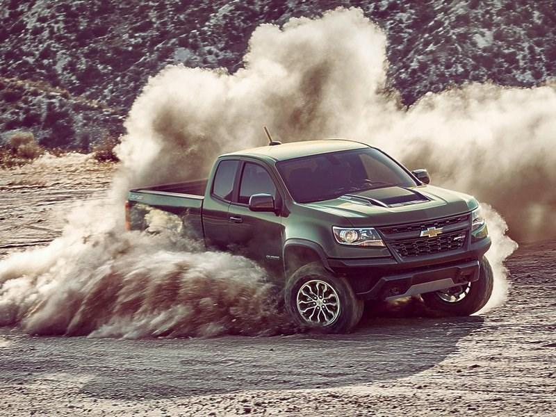 Chevrolet показал новую версию Colorado с уникальными амортизаторами
