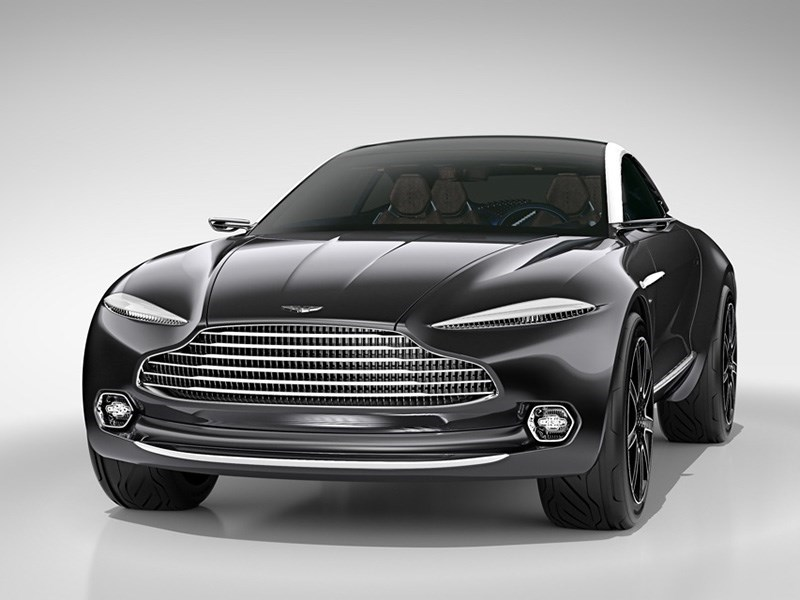 Aston Martin назвал дату премьеры своего кроссовера