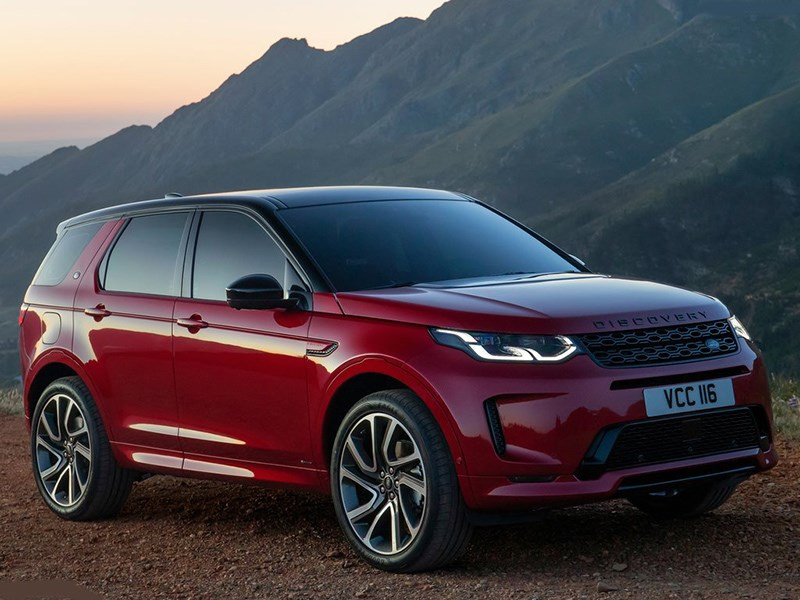 Представлен обновленный Land Rover Discovery Sport