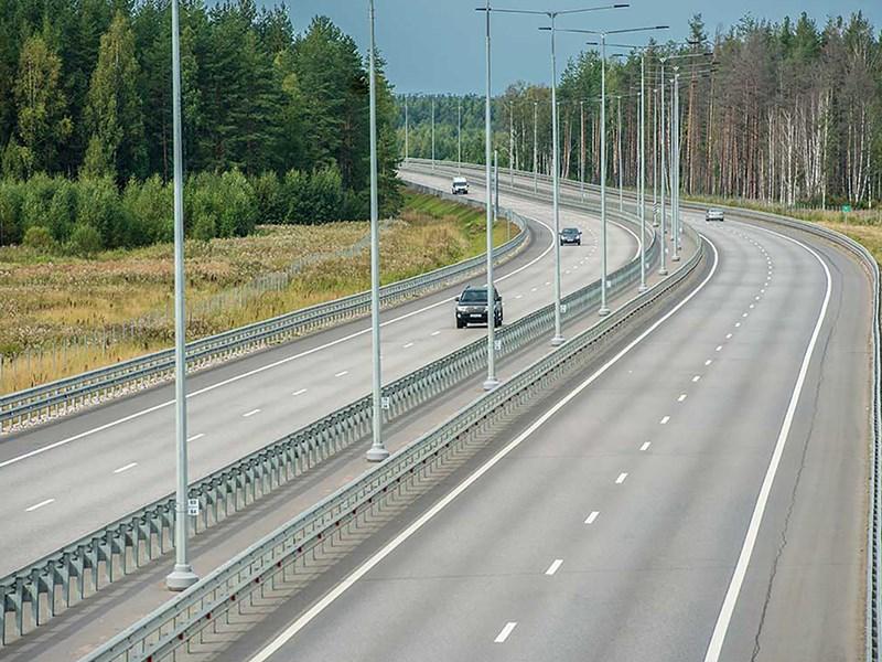В июне откроется движение по новому участку платной трассы М 11 Фото Авто Коломна