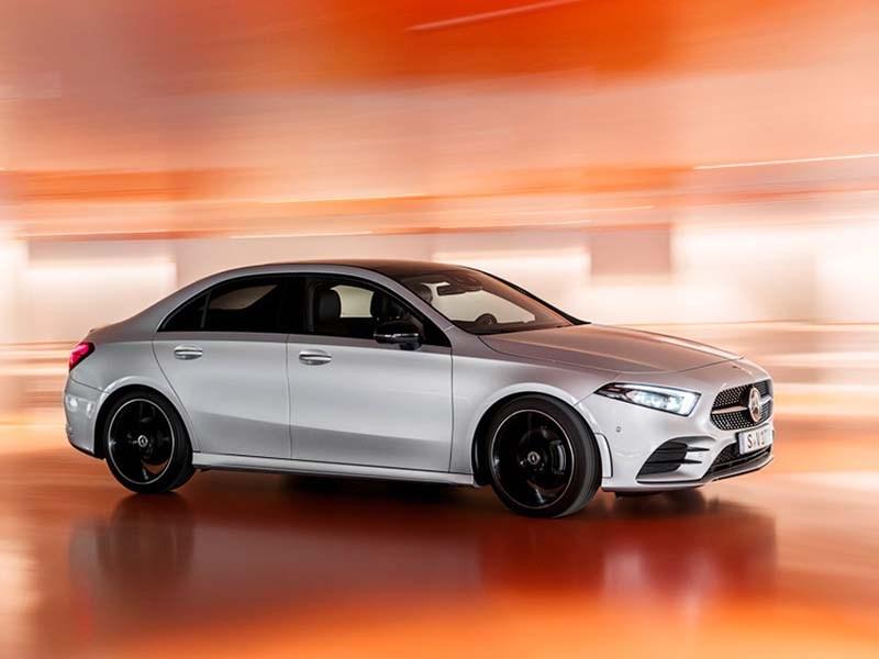 Mercedes-Benz представил свой самый маленький седан