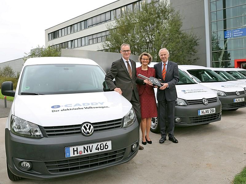 Новый Volkswagen Caddy - Volkswagen e-caddy