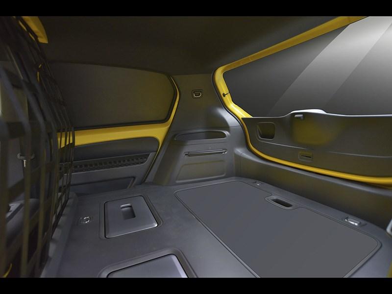 Volkswagen e-load Up! 2013 багажное отделение 2