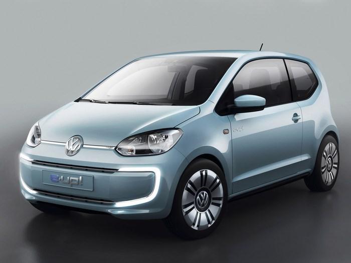 Volkswagen сообщил подробности о своем электромобиле e-up!