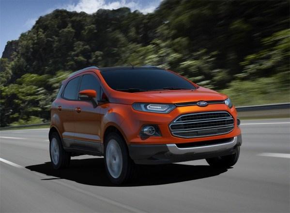 Стала известная стоимость кроссовера Ford EcoSport российской сборки
