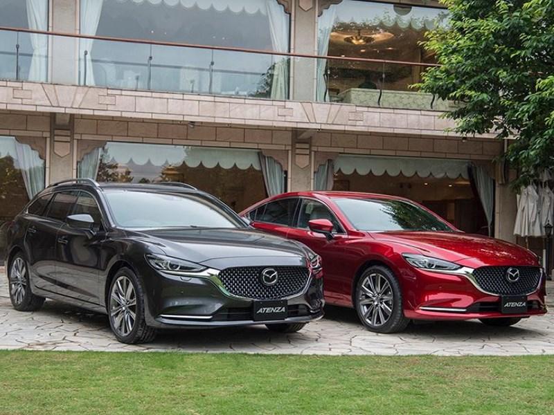 Mazda6 получила новый турбодизель