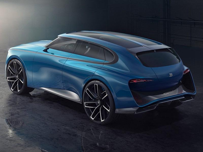 Bugatti выпустит электрический кроссовер