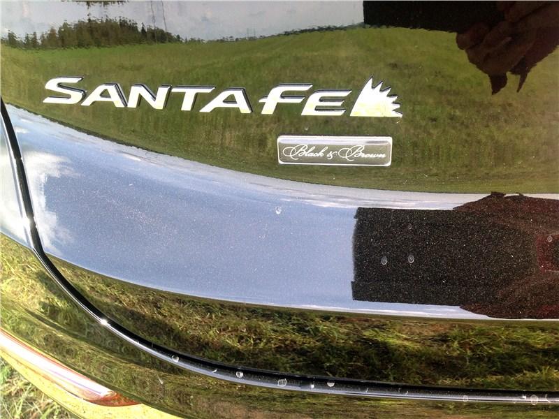 Hyundai Santa Fe 2019 логотип
