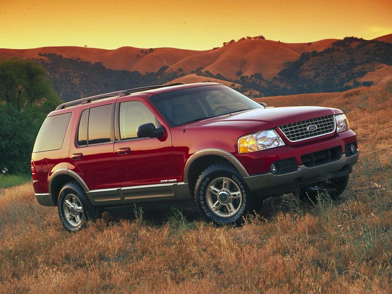 Ford Explorer 2001 фото 1