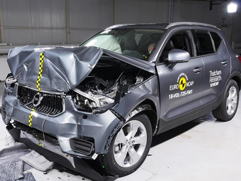 Краш-тесты Euro NCAP: еще двое «отличников»