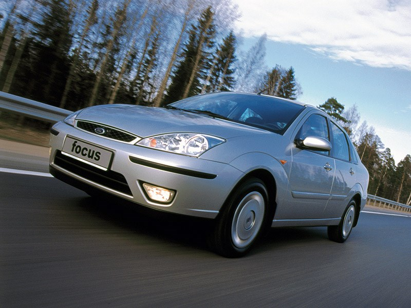 Ford Focus 1998 кузов седан