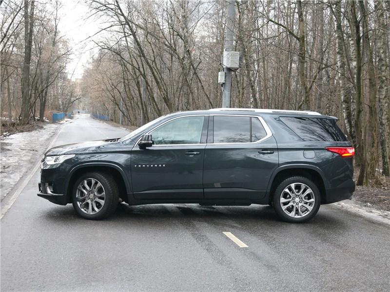 Chevrolet Traverse 2018 вид сбоку