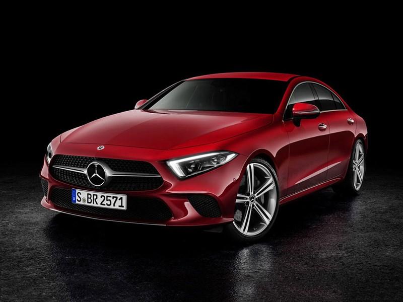 Новый Mercedes-Benz CLS получил 2-литровый двигатель
