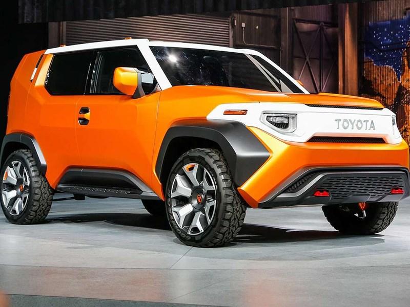 Появились первые подробности о серийной версии кроссовера Toyota FT 4X Фото Авто Коломна
