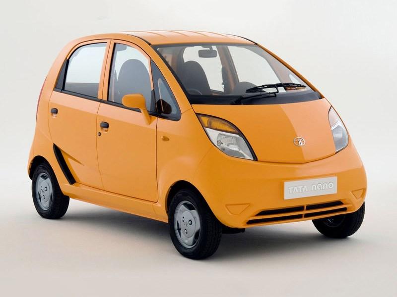Tata прекращает производство хэтчбеков Nano Фото Авто Коломна