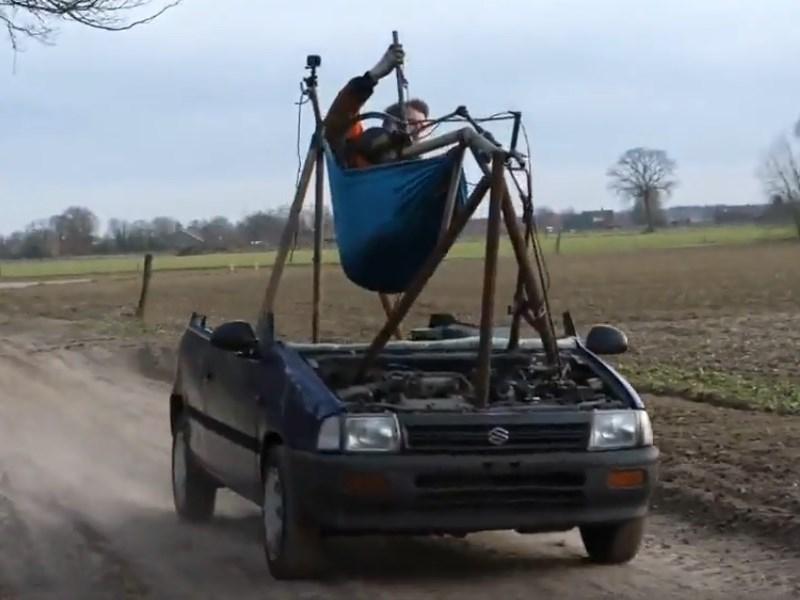 В Голландии разработали машину-гамак