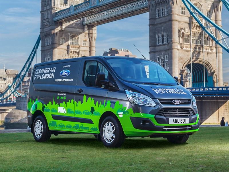 Ford испытает коммерческие «гибриды» на улицах Лондона