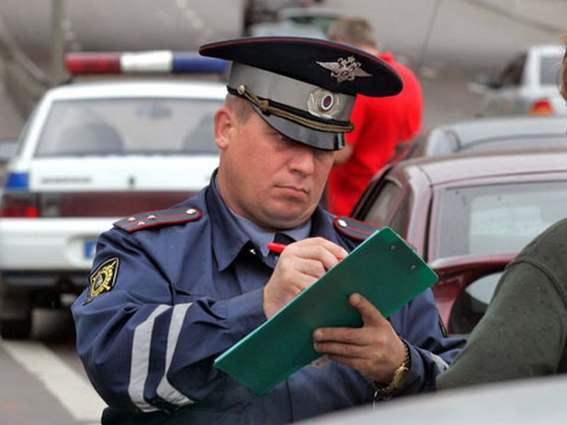 За 2012 год в Москве собрано 3 млрд рублей штрафов