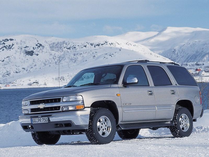 Chevrolet Tahoe 2001 статика фото 1