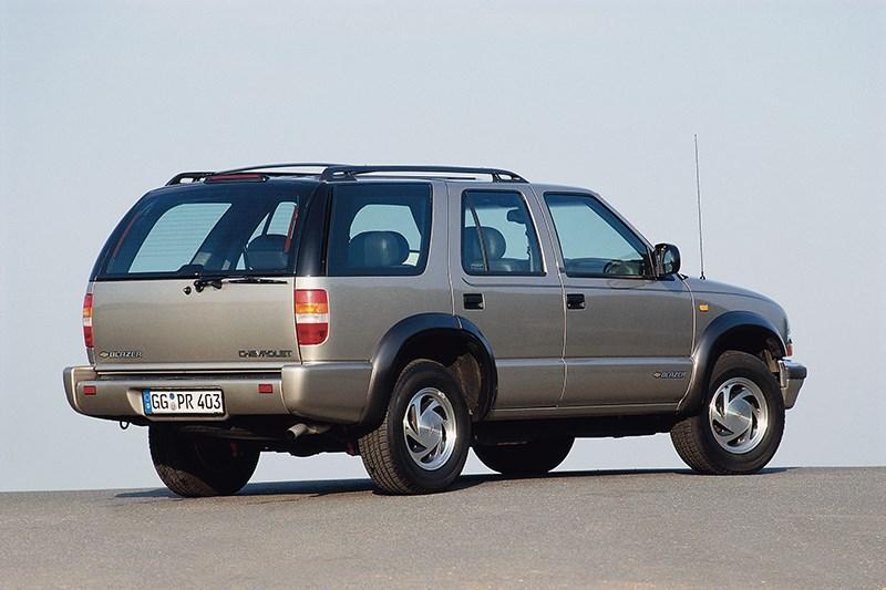 Chevrolet Blazer 2001 фото 1