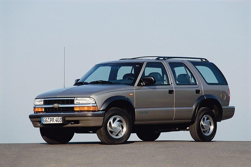 Chevrolet Blazer 2001 фото 2