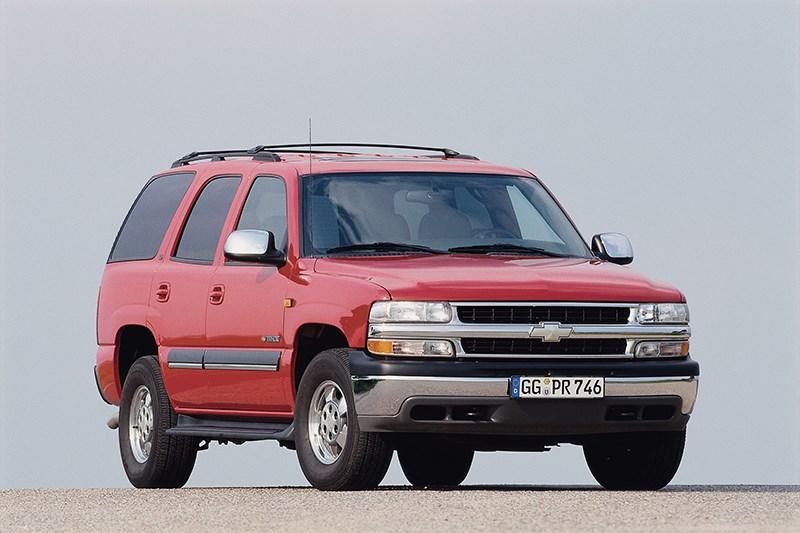 Chevrolet Tahoe 2001 статика фото 3