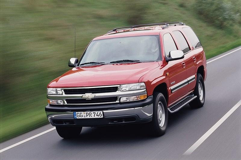 Chevrolet Tahoe 2001 динамика фото 1