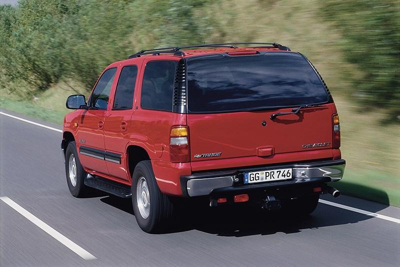 Chevrolet Tahoe 2001 динамика фото 2