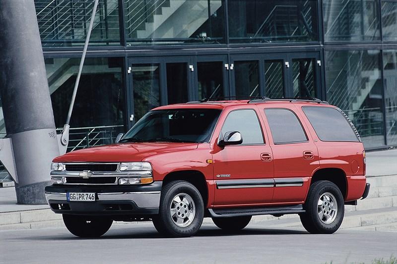 Chevrolet Tahoe 2001 статика фото 4
