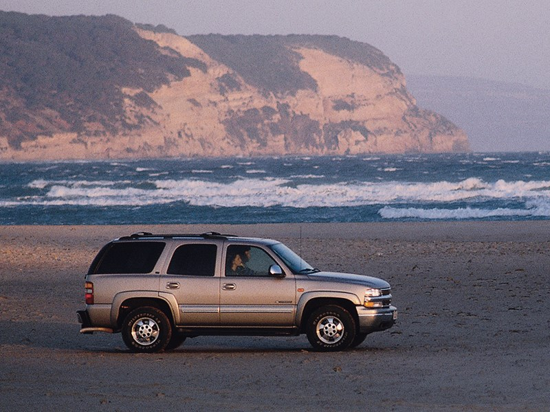 Chevrolet Tahoe 2001 статика фото 5