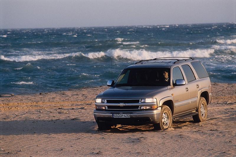 Chevrolet Tahoe 2001 статика фото 6